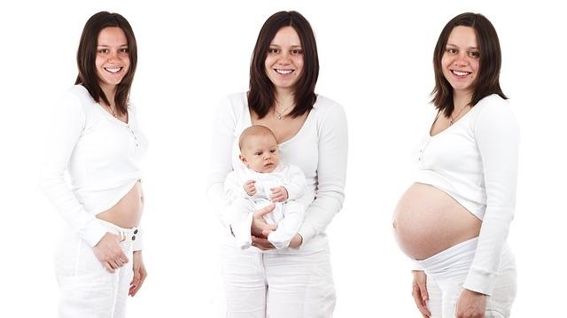 nosečnost nosečnost po tednih trebuh
