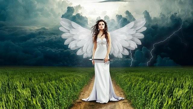 srečanje z angelom