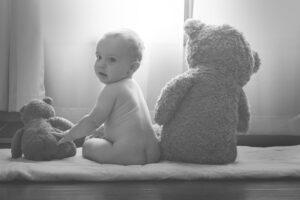 posteljice za dojenčke medvedek