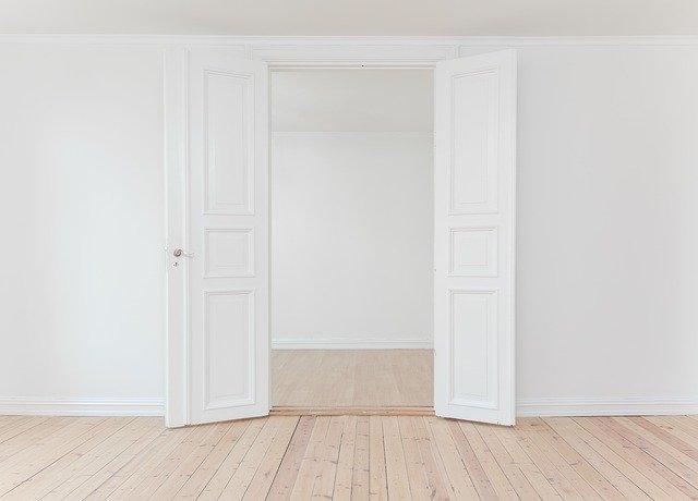 notranja vrata belo