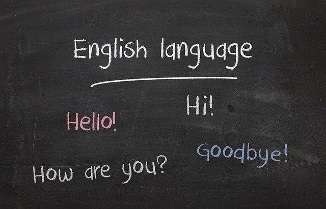 tečaj angleščine tabla