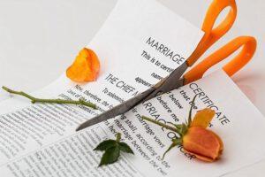 delitev premoženja ob ločitvi certifikat