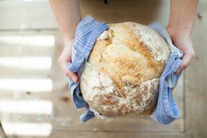 domač kruh pečen
